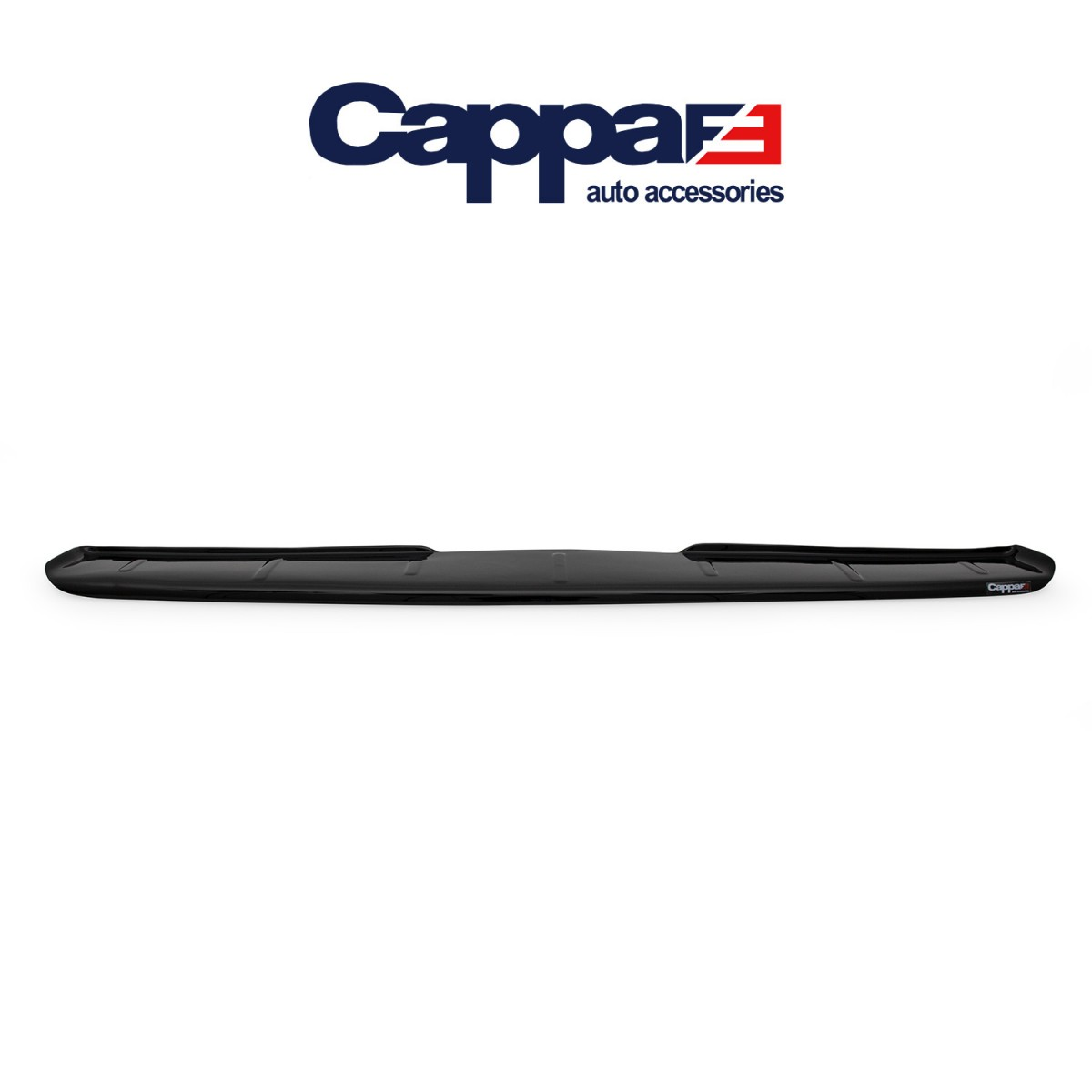 CAPPAFE Volkswagen T4 Transporter Arka Tampon Eşiği Parlak Siyah 1995 - 2003