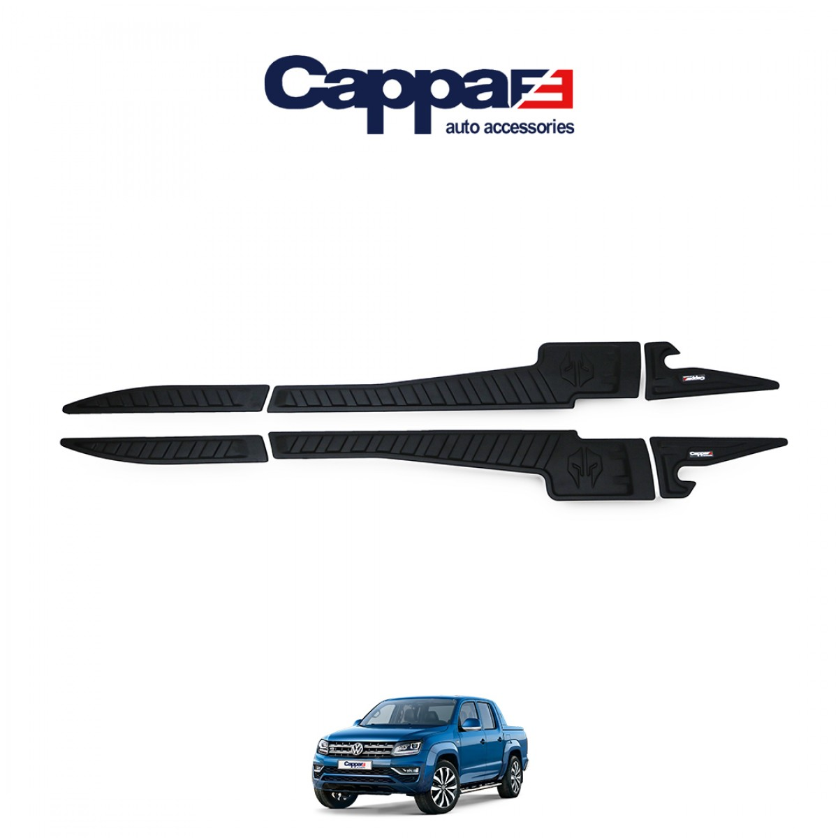 CAPPAFE Amarok 2010-2020 Yarasa Kapı Kaplama
