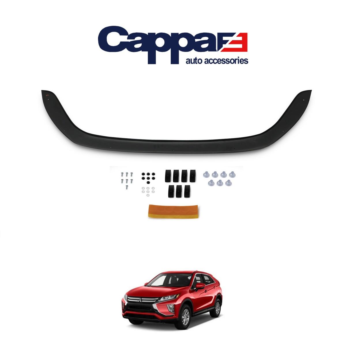 CAPPAFE Mitsubishi Eclipse Cross Ön Kaput Koruyucu 4mm ABS 2018 ->