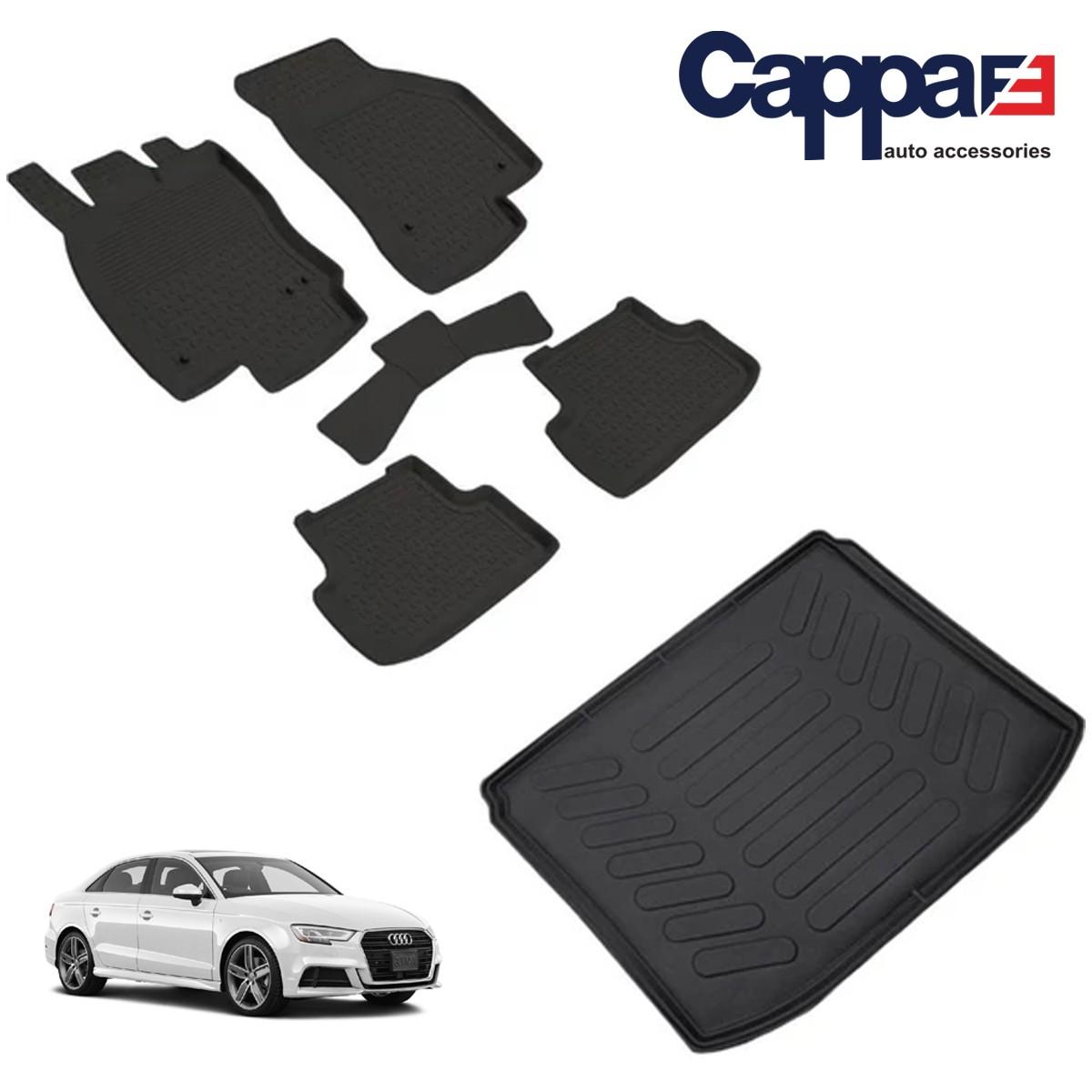 Audi A3 Sedan Refref 4D Paspas Siyah ve Bagaj Havuzu 2013 ve Üstü