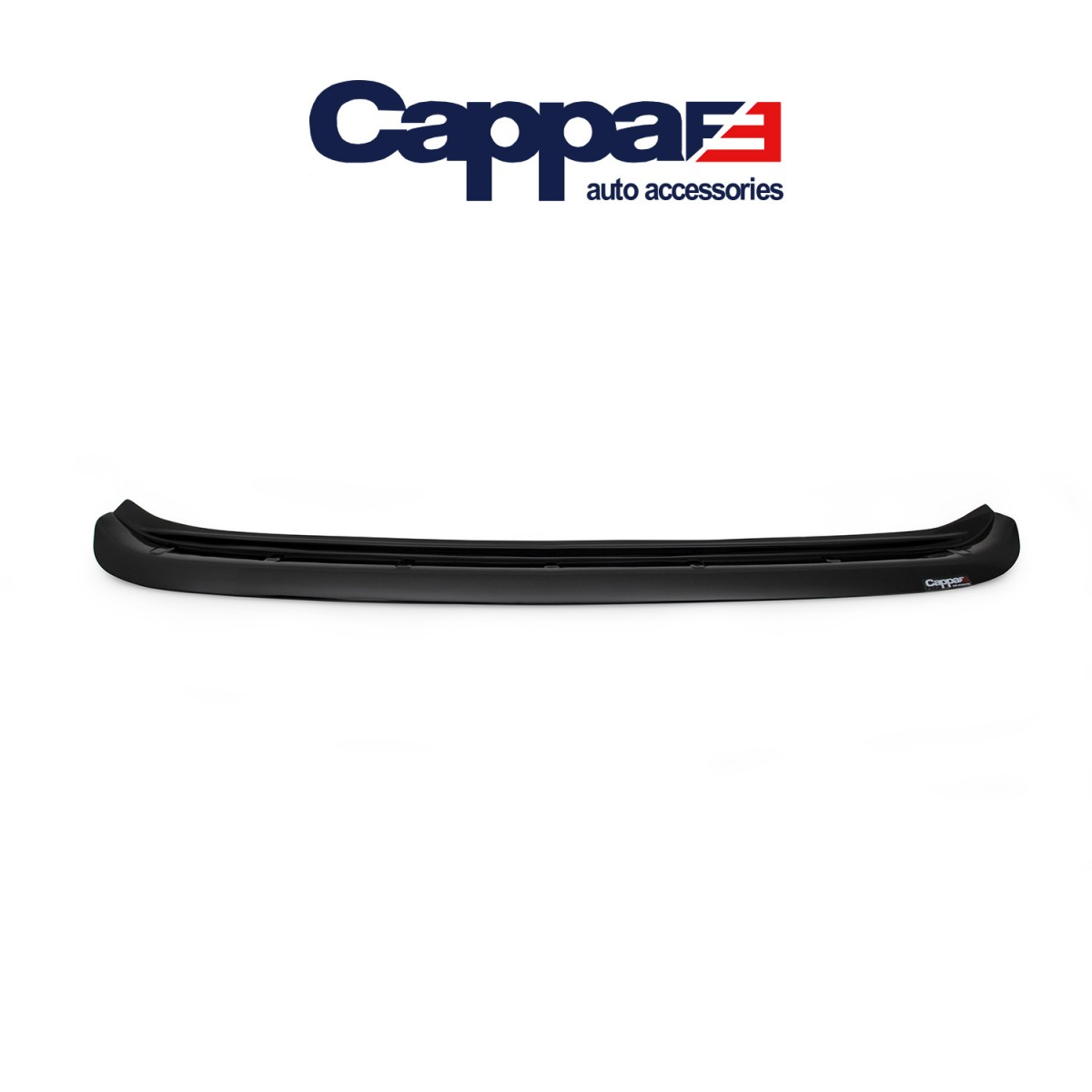 CAPPAFE Nissan Qashqai Arka Tampon Eşiği Parlak Siyah 2014 - 2016