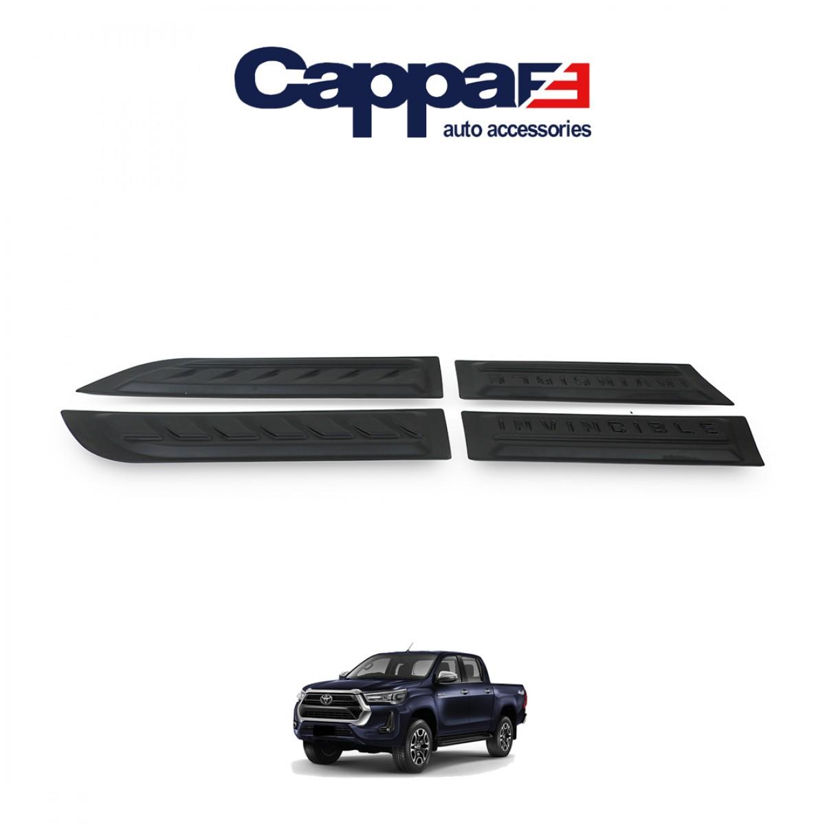 CAPPAFE Toyota Hilux 2021 4 Parça Kapı Dodik