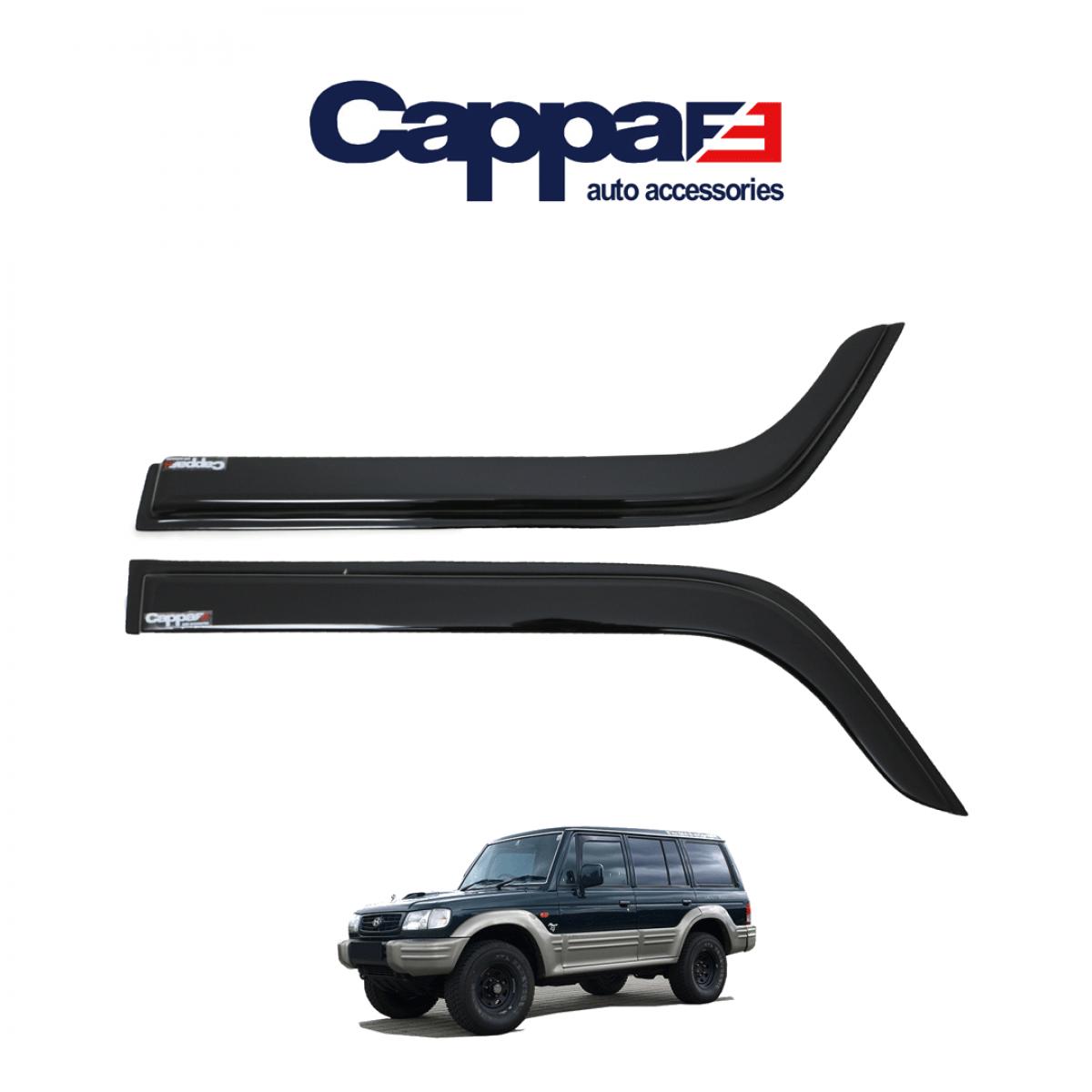 CAPPAFE Hyundai Galloper Cam Rüzgarlığı 2 Parça 1997-2003