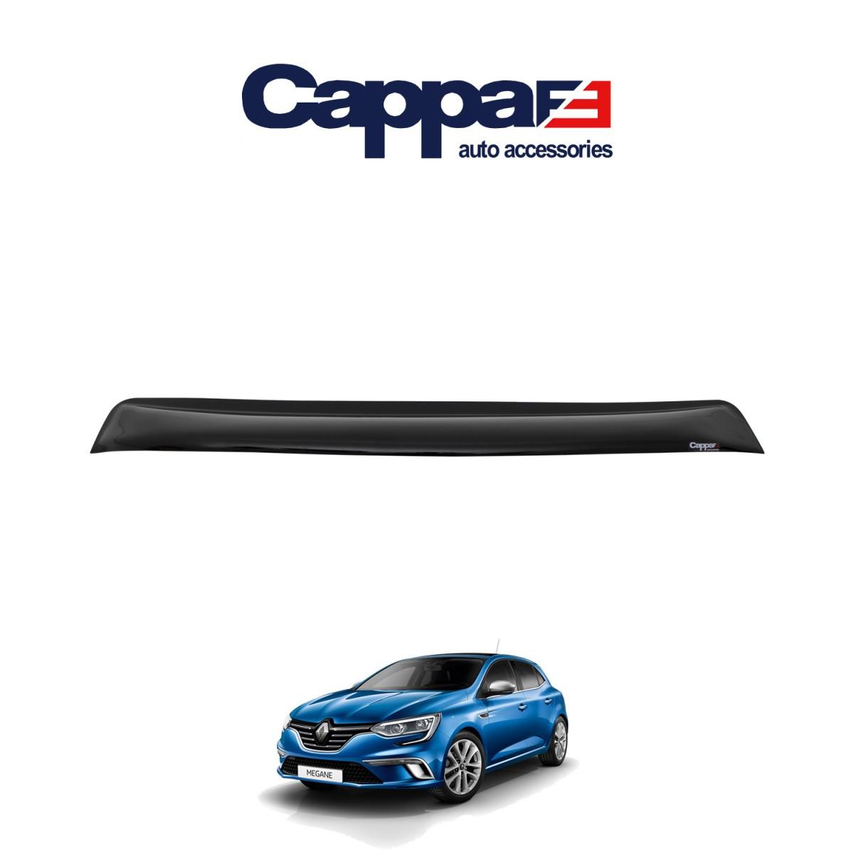 CAPPAFE Renault Megane 4 Arka Cam Üstü Spoyler 2016 ->
