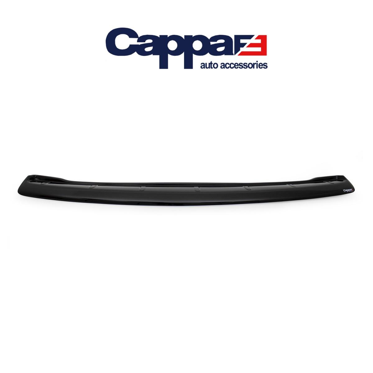CAPPAFE Volkswagen Caddy Arka Tampon Eşiği Parlak Siyah 2015 ->