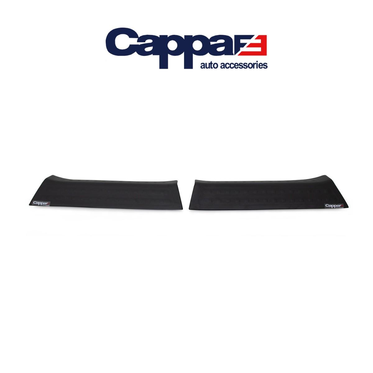 CAPPAFE Volkswagen T6 Transporter Kapı Eşiği 2 Parça Mat Siyah 2015 ->