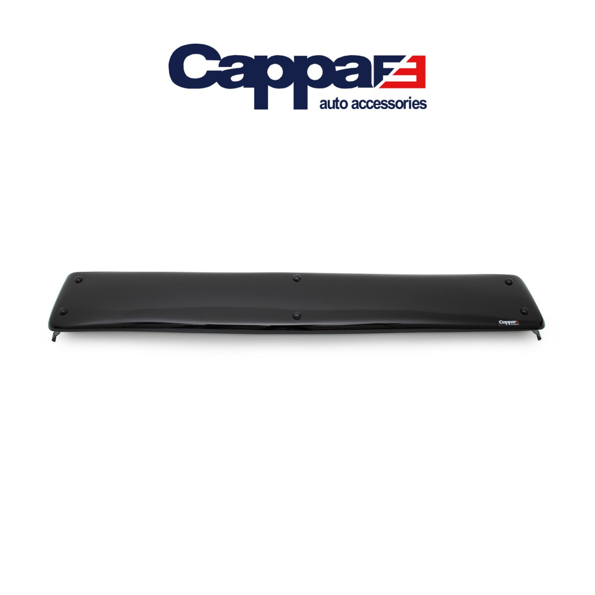CAPPAFE Isuzu NKR Low Ön Cam Güneşliği Vizör Şapka Terek Parlak Siyah 2006 - 2009