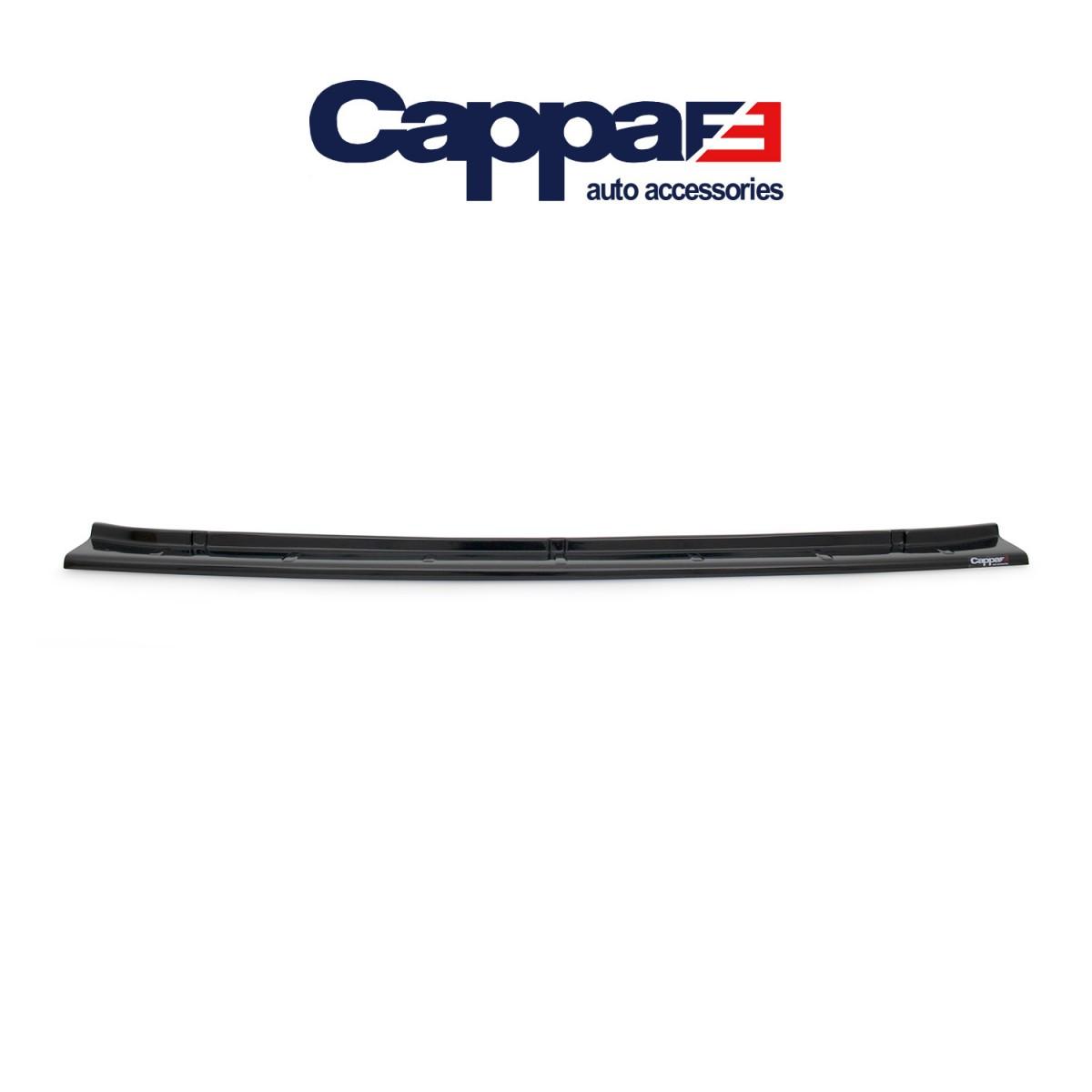 CAPPAFE Volkswagen Crafter Arka Tampon Eşiği Parlak Siyah 2012 - 2017
