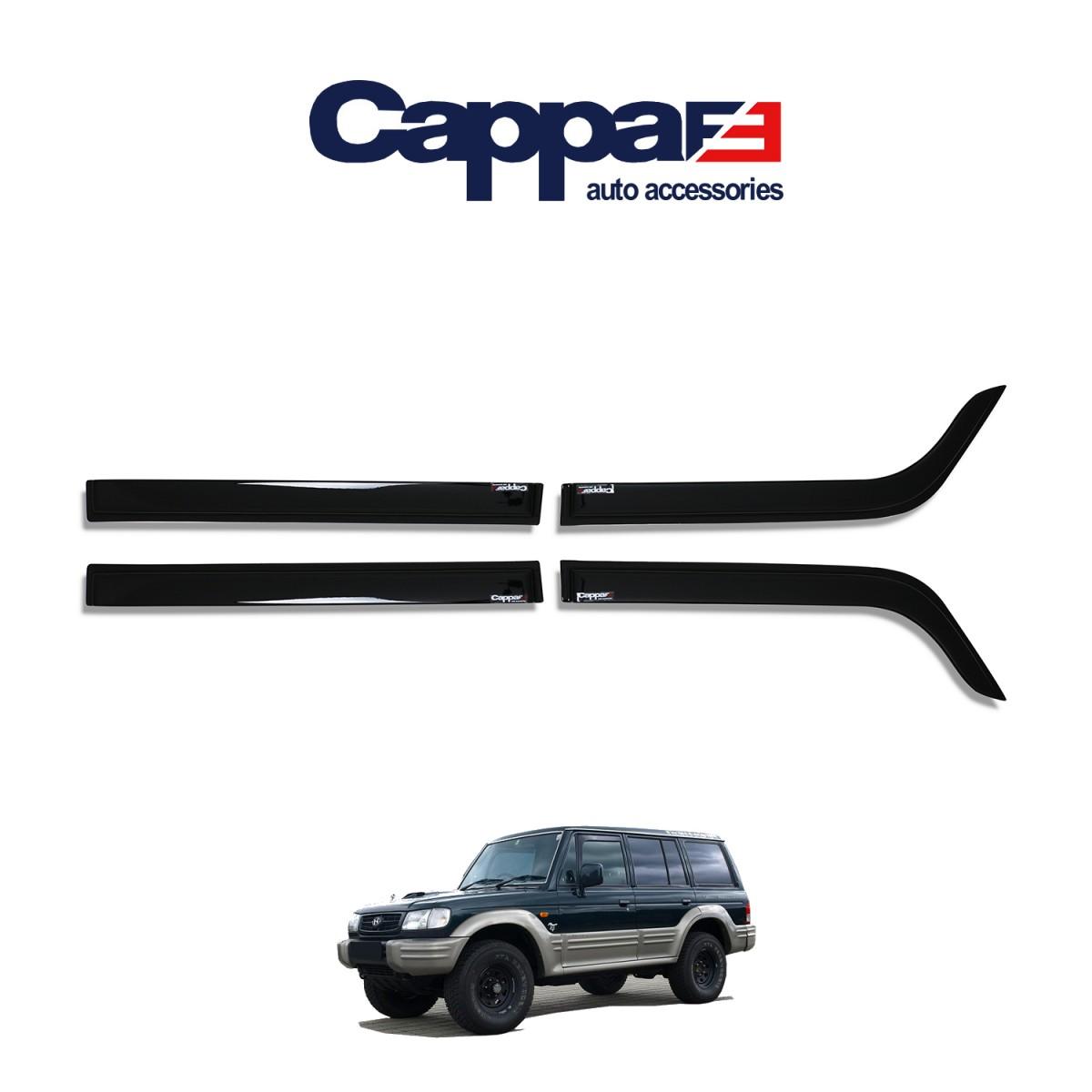 CAPPAFE Hyundai Galloper Cam Güneşliği 4 Parça 1997-2003