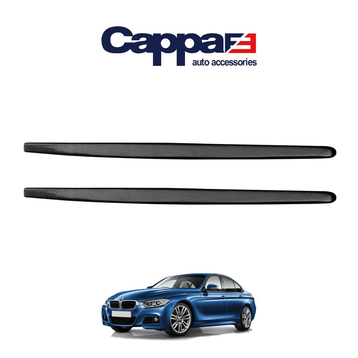 CAPPAFE BMW F30 Marşpiyel Alt Çıta Set Performans Parlak Siyah 2011-2019