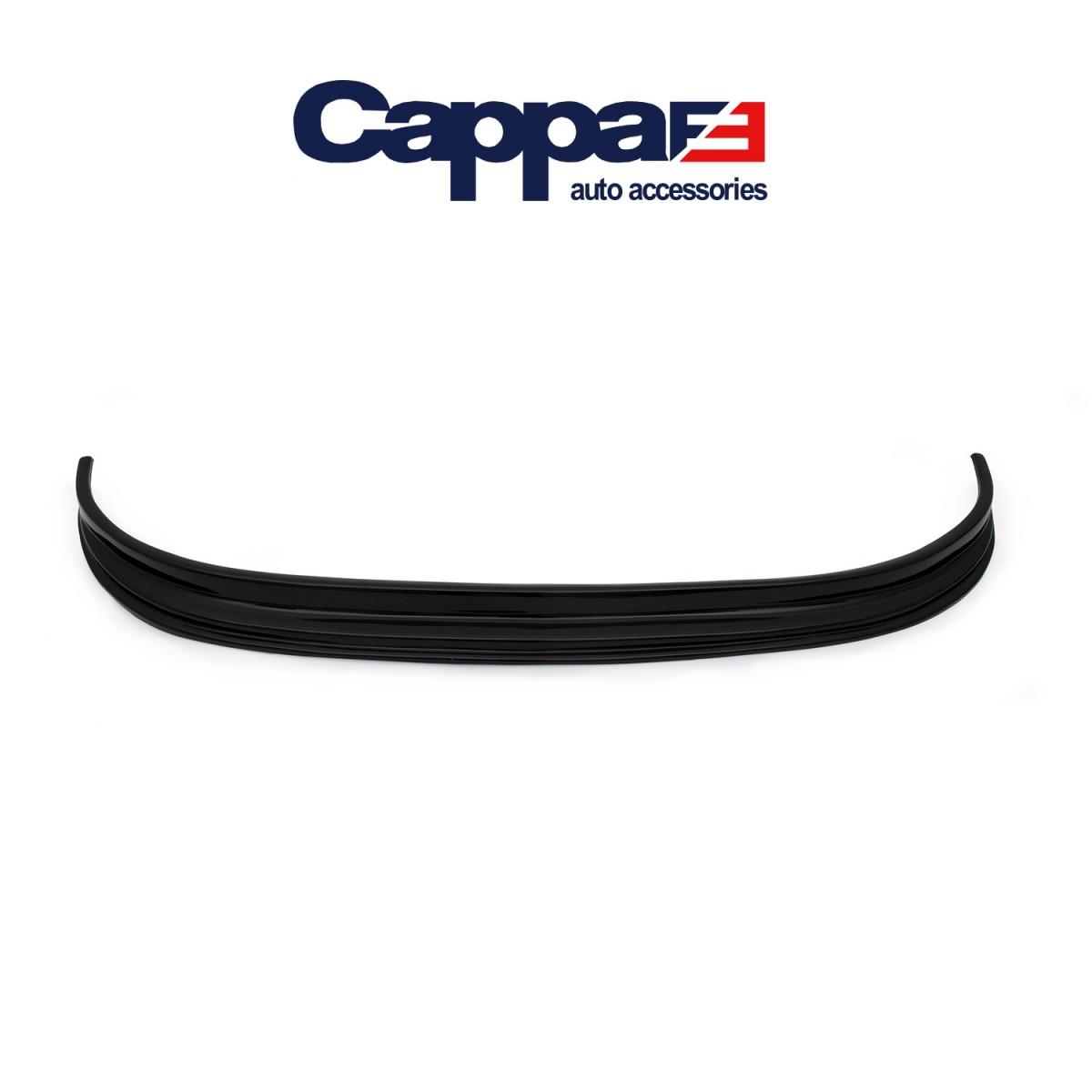 CAPPAFE Peugeot Boxer Ön Tampon Lip Eki Karlık Parlak Siyah 1994 - 2006