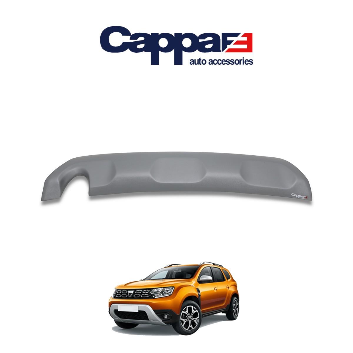 CAPPAFE Dacia Duster Arka Difüzör ABS Mat Gri 2018 ->