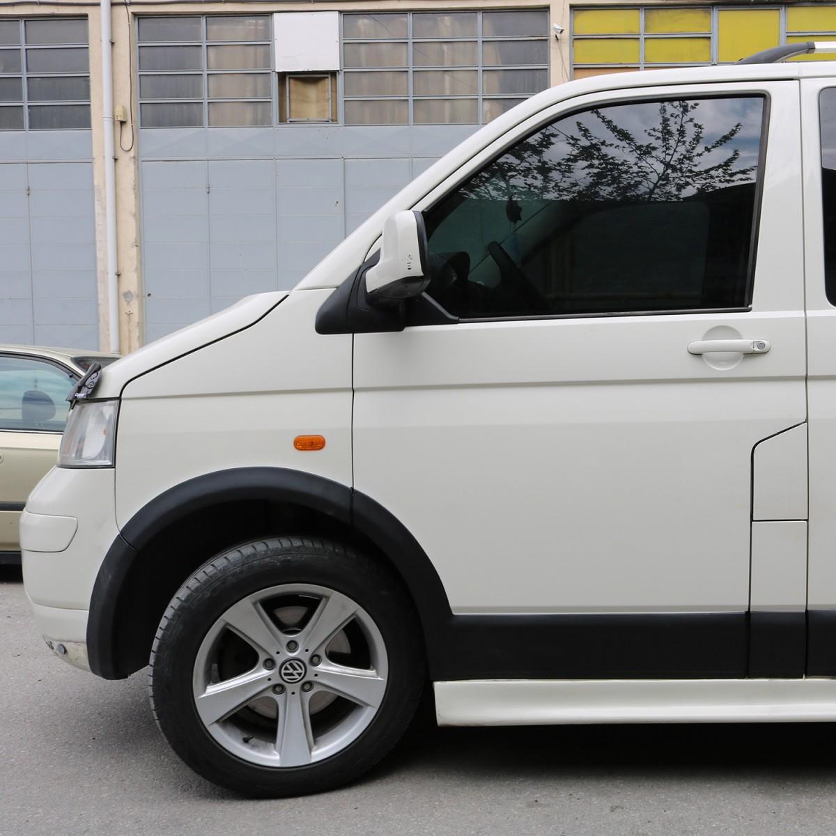 Volkswagen Transporter T5 Kısa Şasi / 2003 - 2009 / Çamurluk ve  Kapı Dodikleri Set / 11 Parça / Çift Sürgü