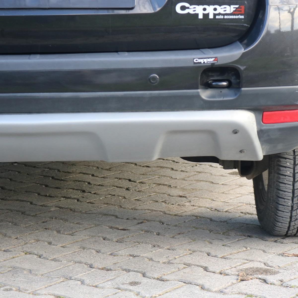 CAPPAFE Dacia Duster Arka Difüzör Mat Gri 2010 - 2017