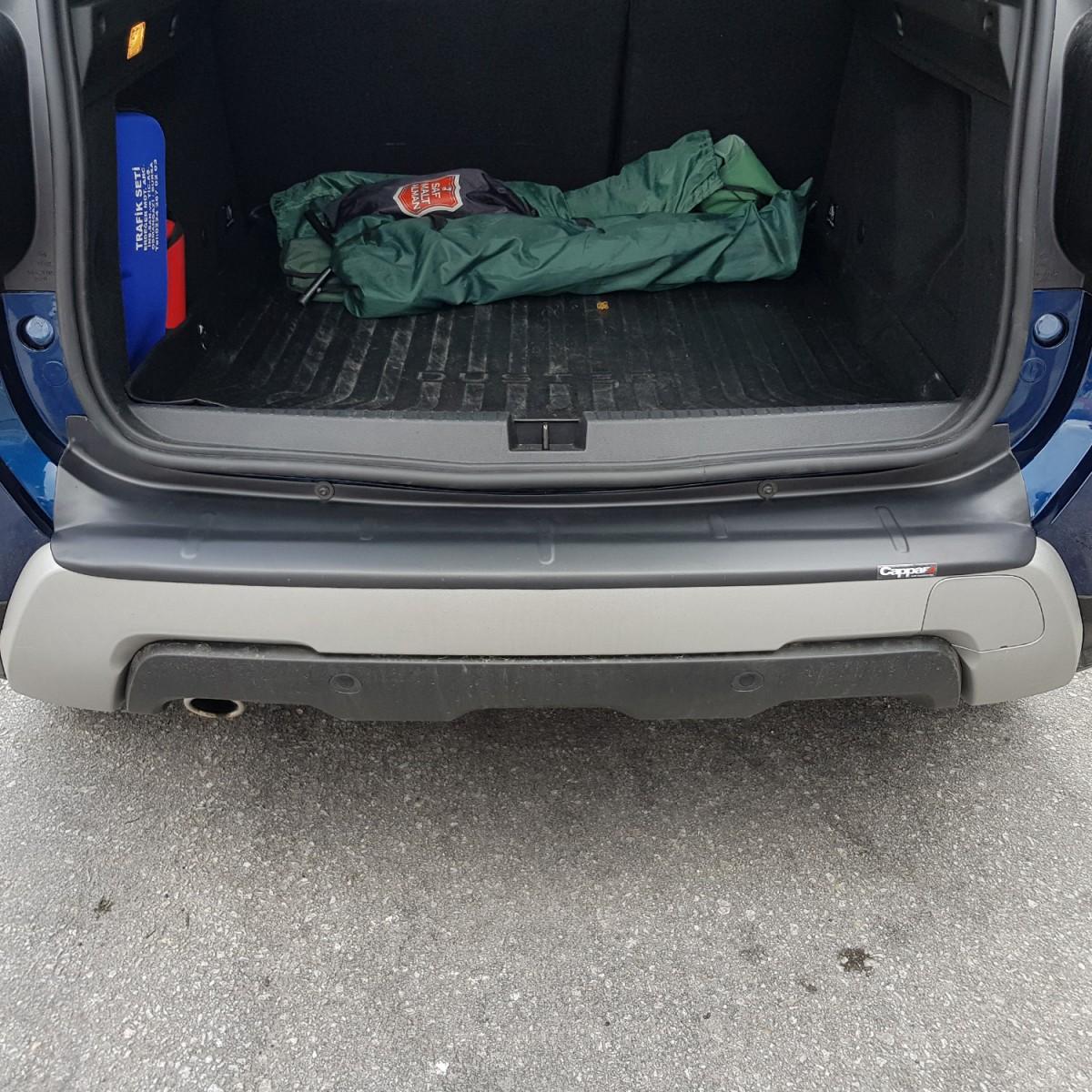 Dacia Duster Arka Tampon Eşiği Koruma 2018- Yılı ve Sonrası