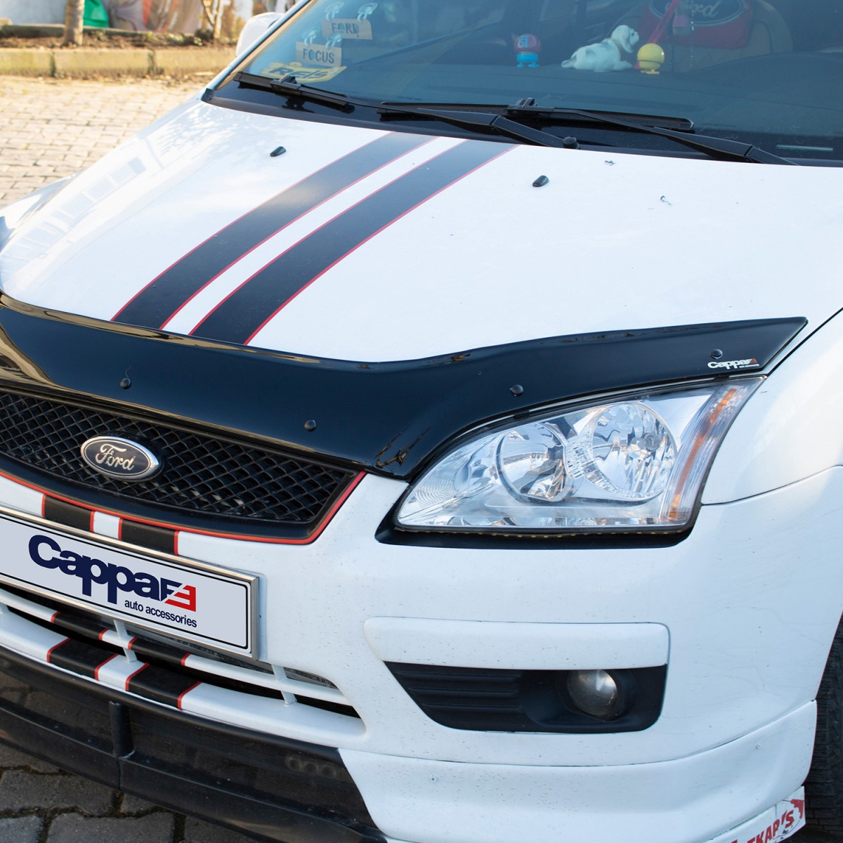 Ford Focus Ön Kaput Koruyucu Rüzgarlığı 2005-2008 Yılı Arası