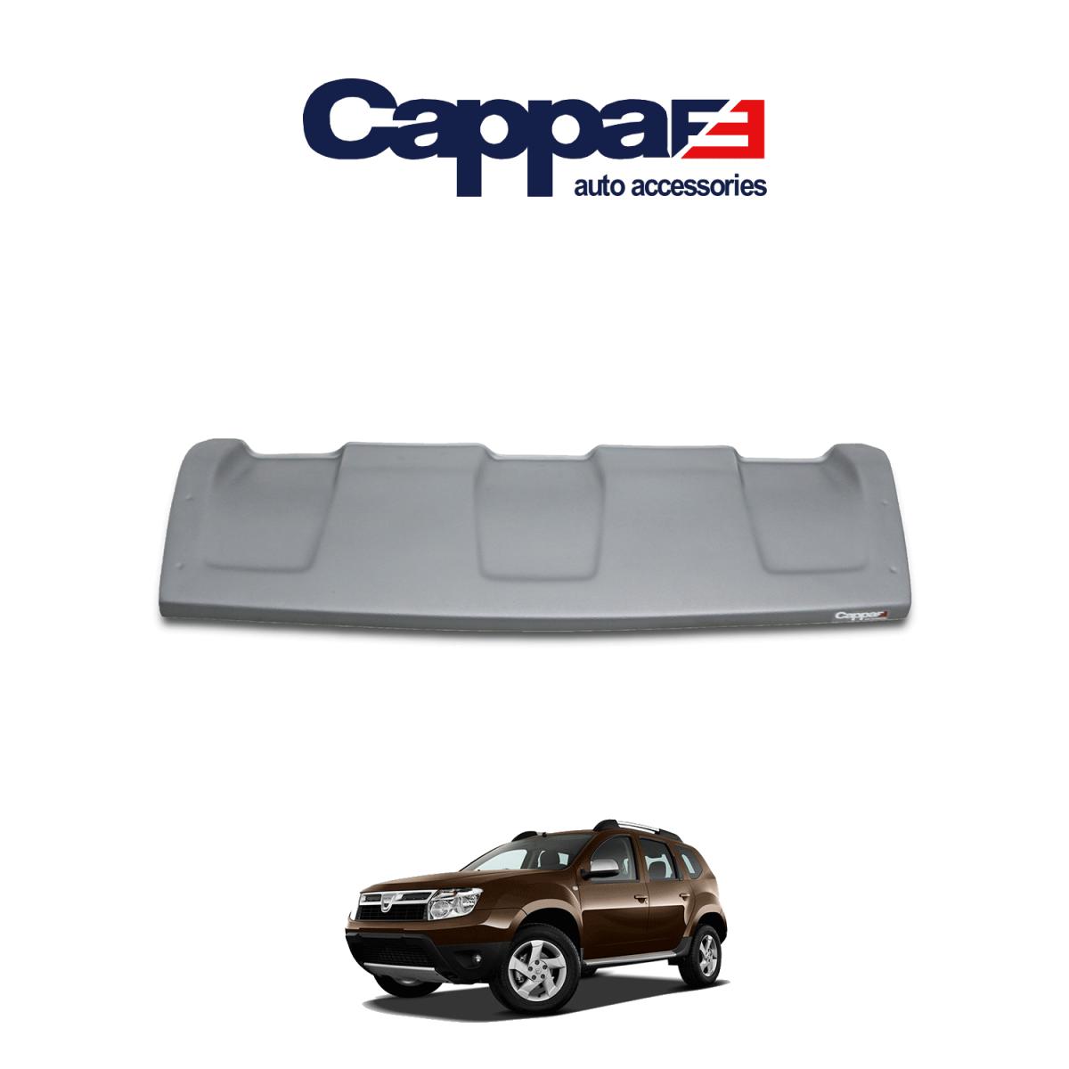 CAPPAFE Dacia Duster Ön Difüzör Mat Gri 2010-2017